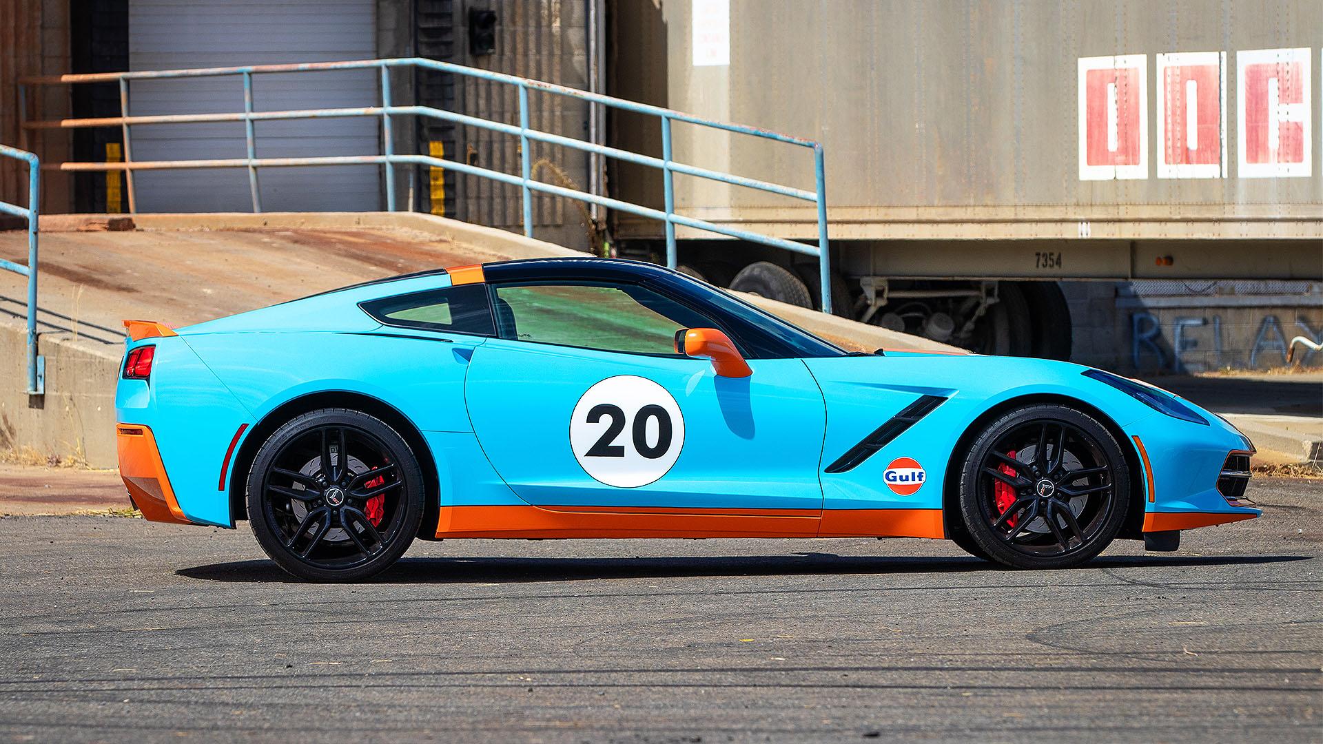 2014 Corvette Gulf Livery Edition Wrap - Paint Wraps ...