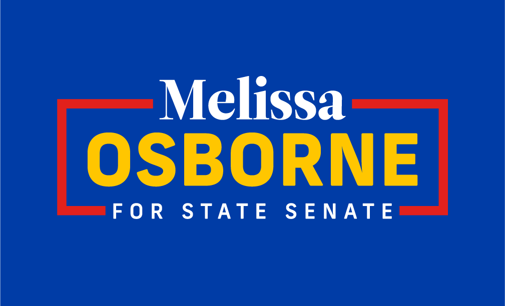 Melissa Osborne for State Senate logo