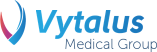 Vytalus Medical Group Logo and spelled out text.