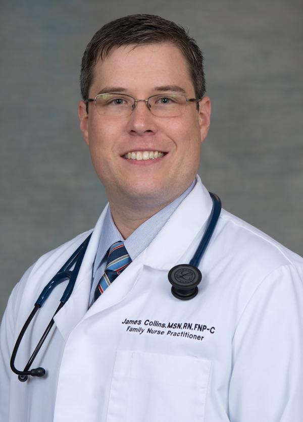 James Collins, MSN, RN, FNP-C