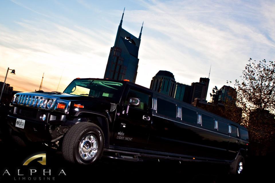 hummer limousine Nashville