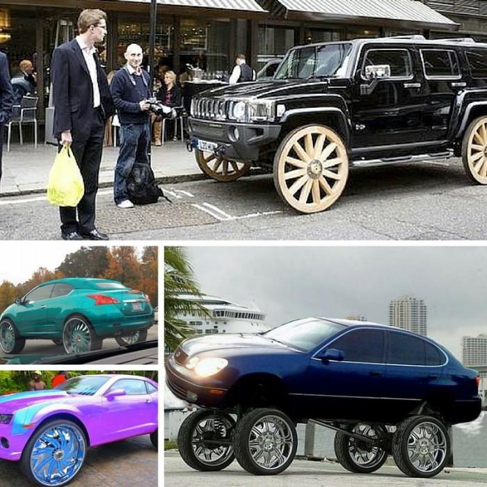 Huge Wheel Cars - Donks
