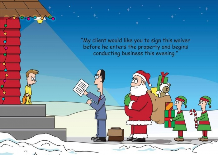 Funny Christmas Cards For Lawyers T C S May Apply Smith S