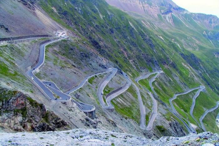 Col de Turini in France