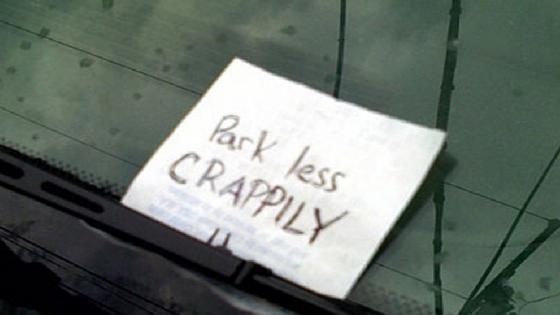 Windscreen note