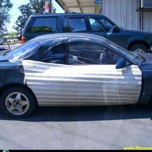 Car smash repair fail