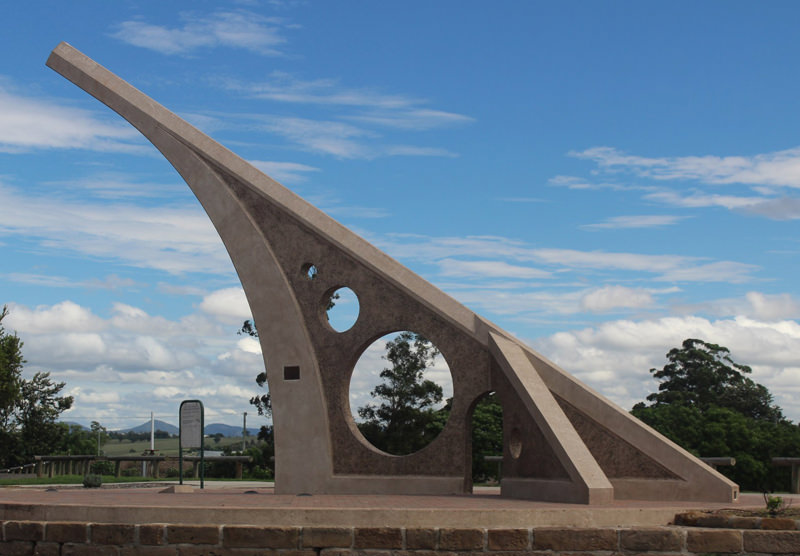 World's biggest sundial