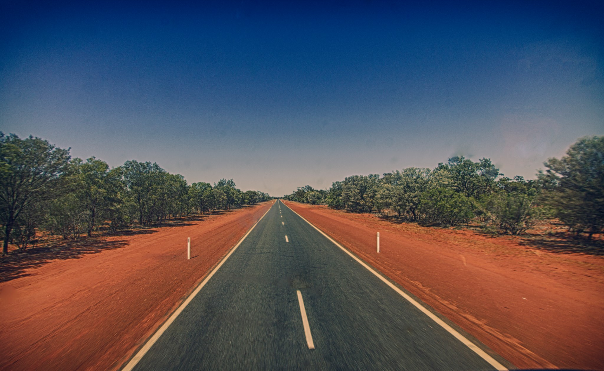Open Aussie road from Diary of a Truck Driver