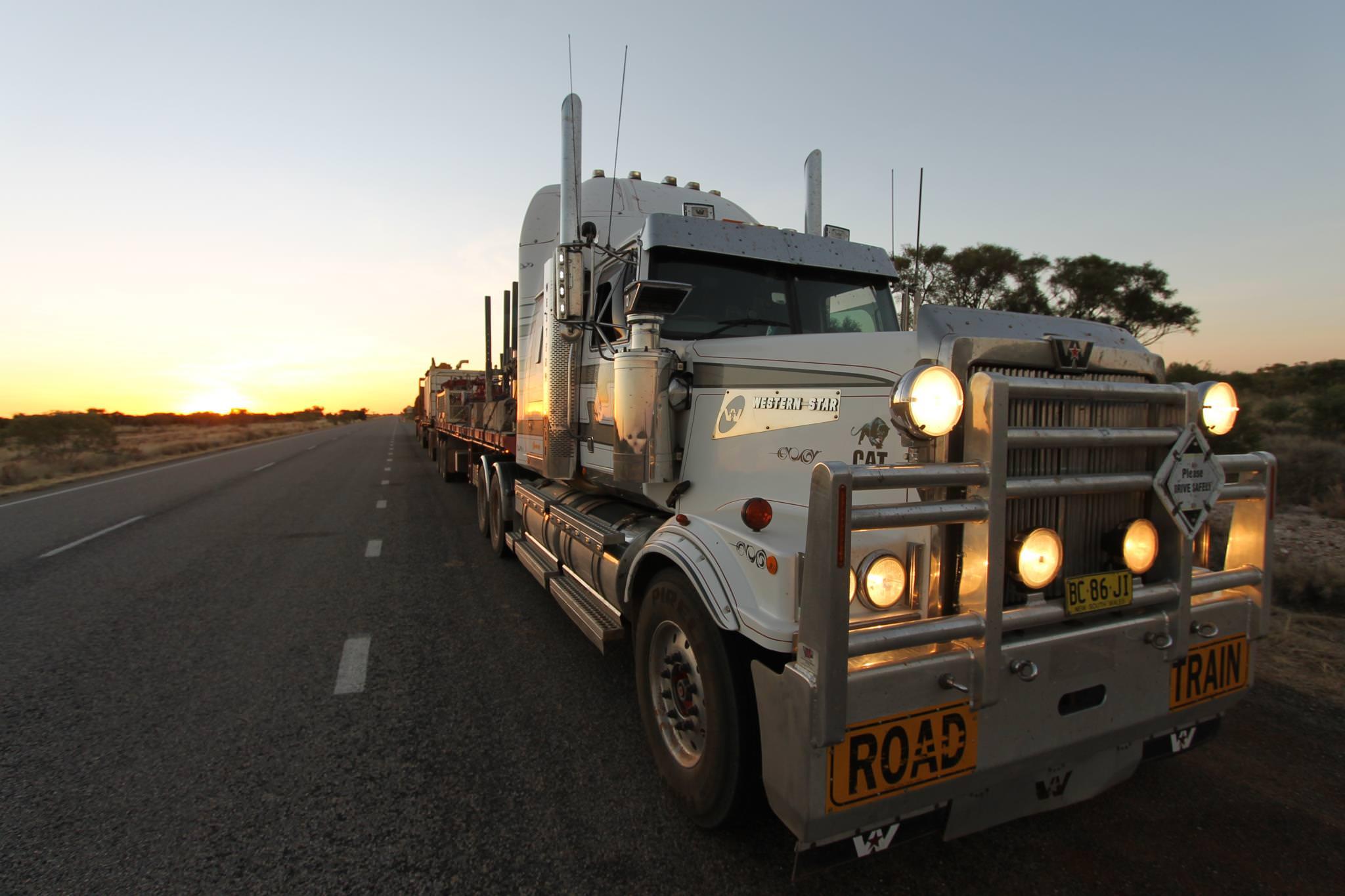 Western Star truck on Aussie road