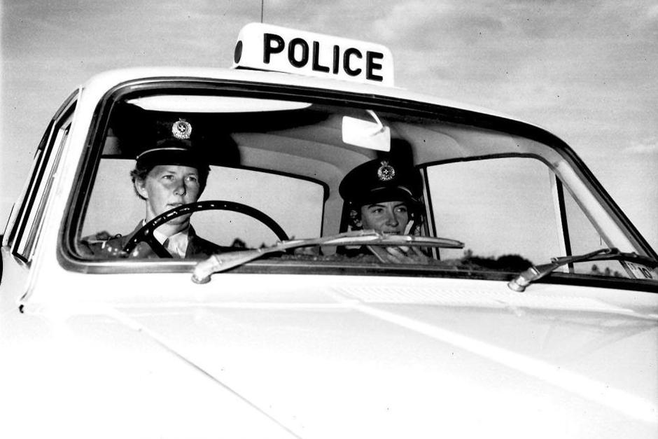 Cortina police car