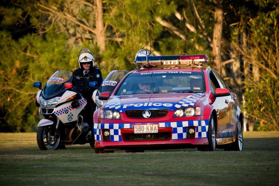 Queensland Police Holden Monaro