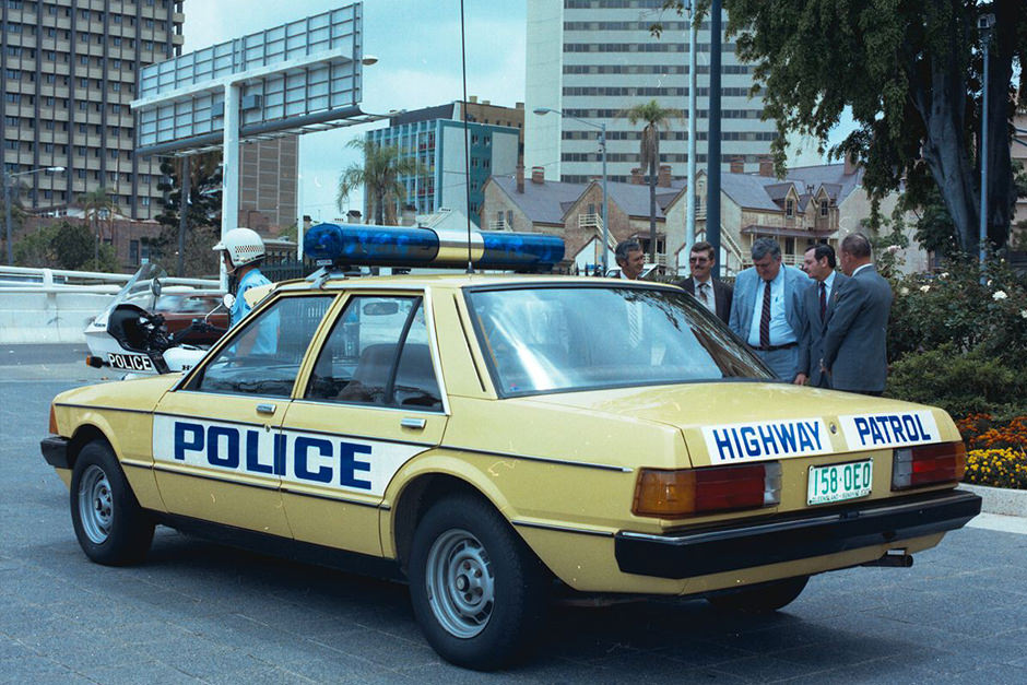 Ford Falcon Highway Patrol police vehicle