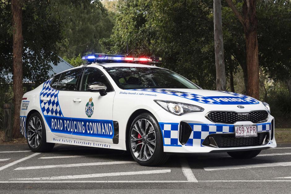 Queensland Police Service Kia Stinger