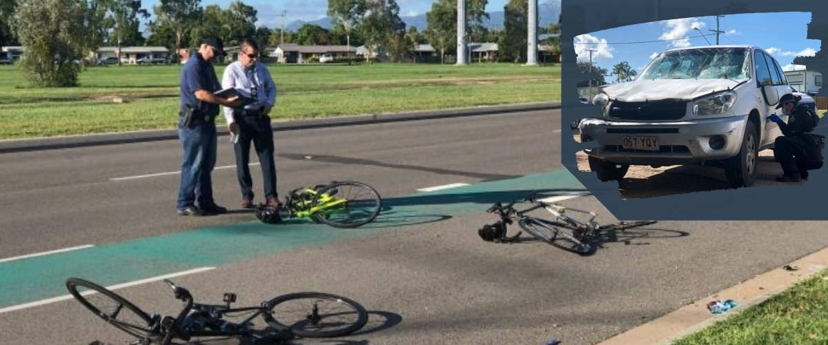 Townsville cyclist hit and run