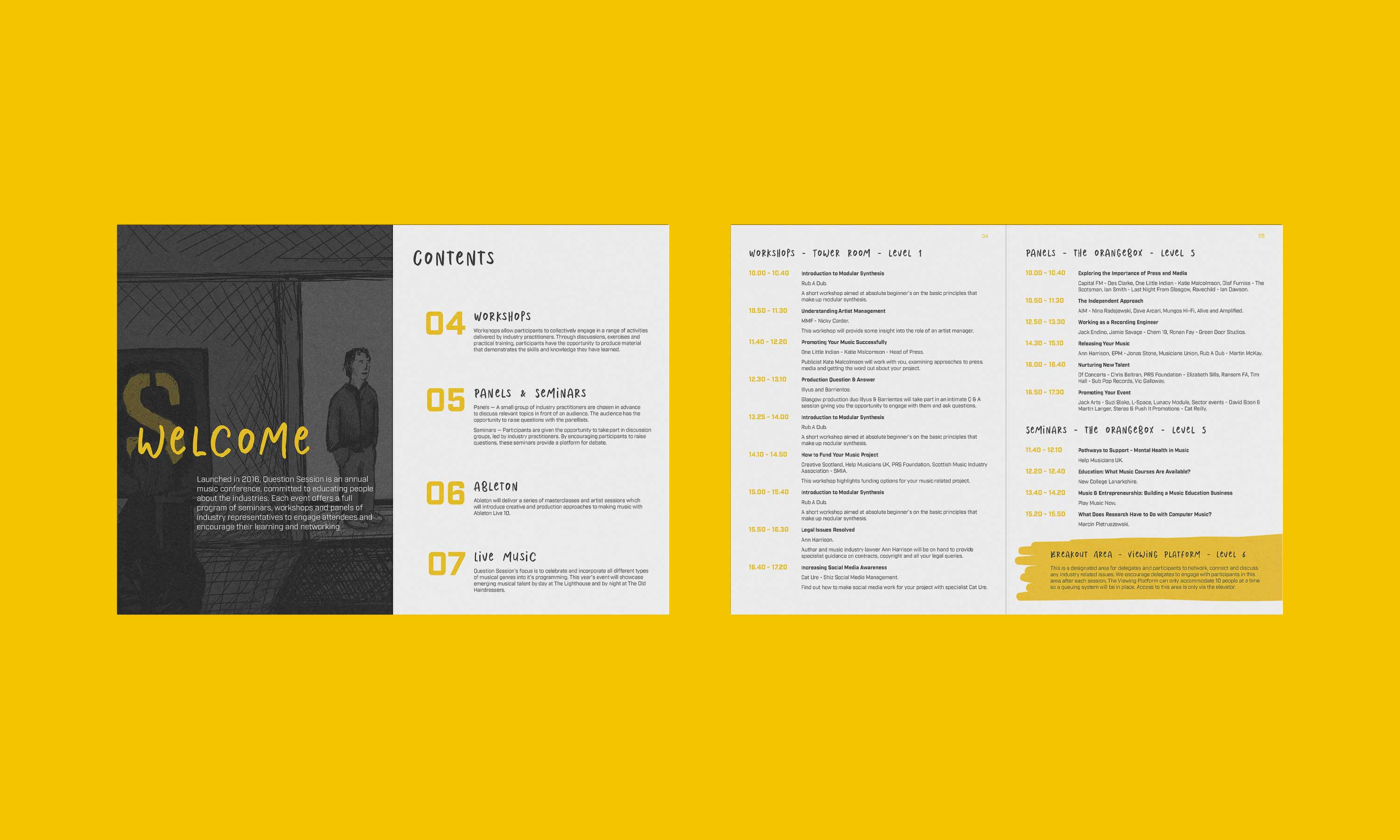 Question Session Brochure Design 01