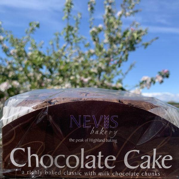 Nevis Double Chocolate cake
