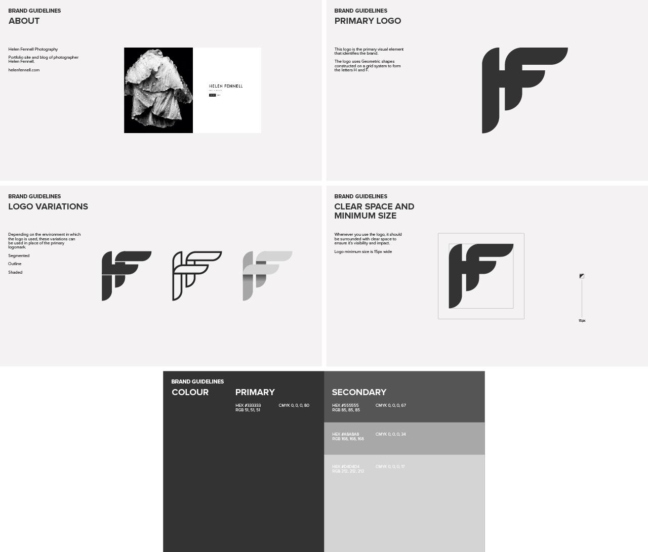 Helen Fennell Brand Guide