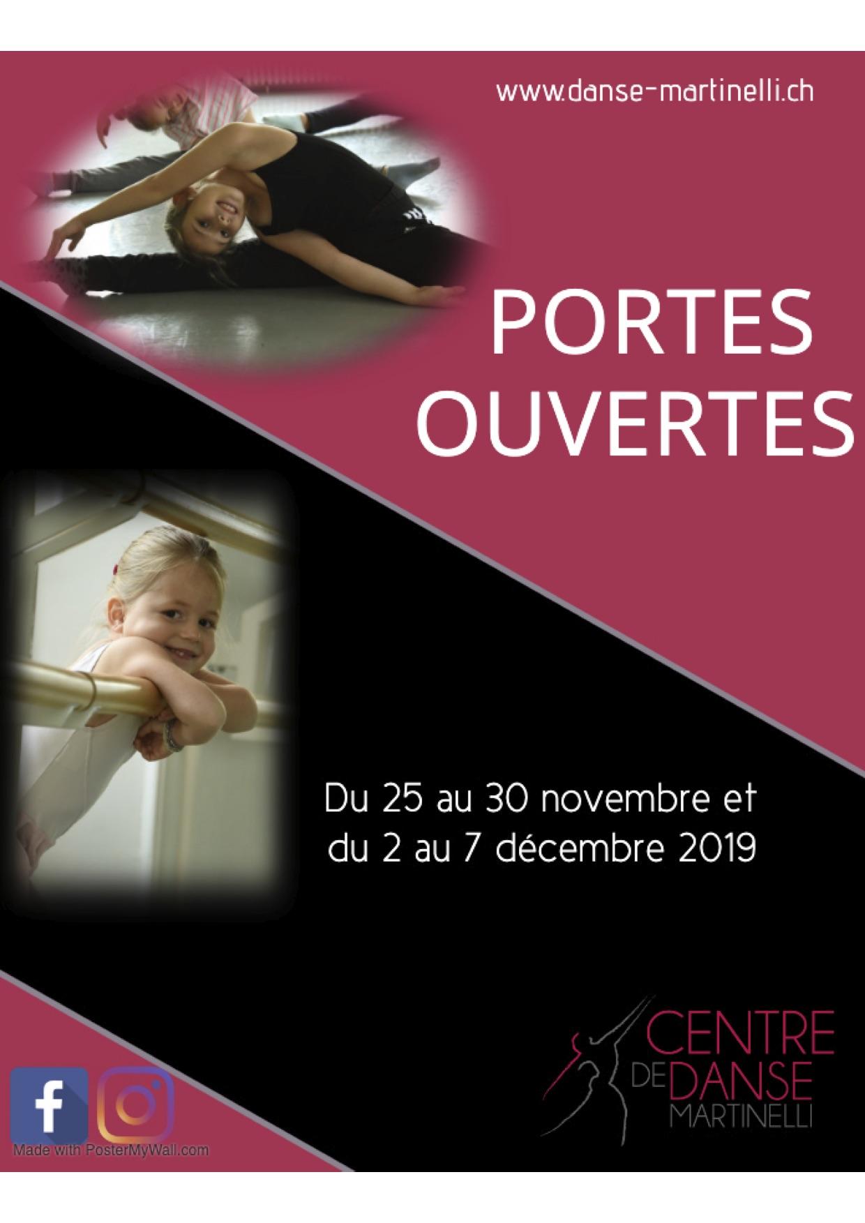 PORTES OUVERTES DU CENTRE DE DANSE