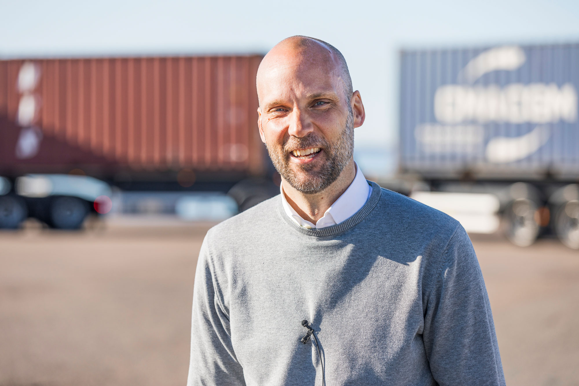 Johan Walther, Supply Chain Manager at Höganäs AB.