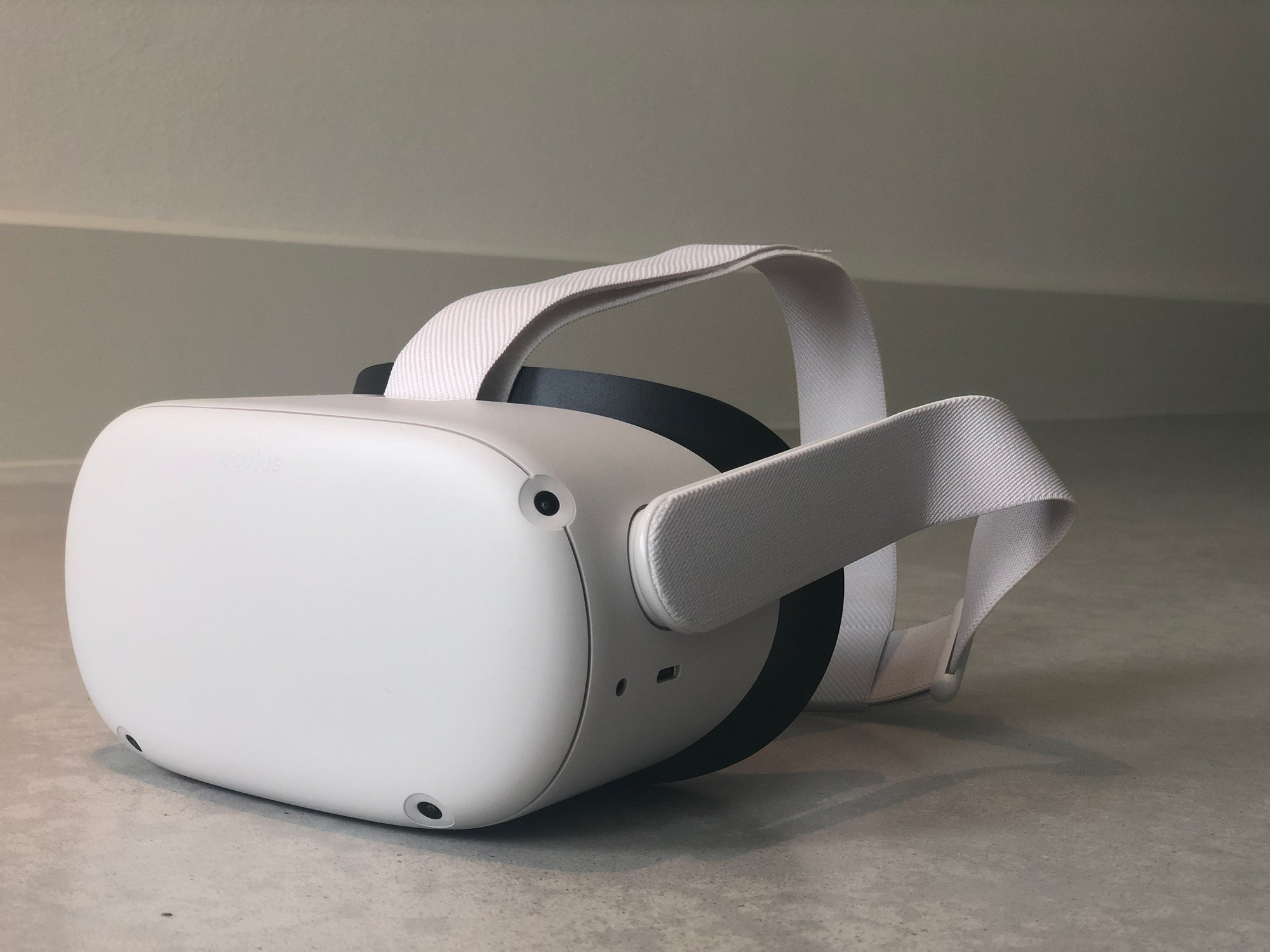 The VR headset Oculus Quest 2