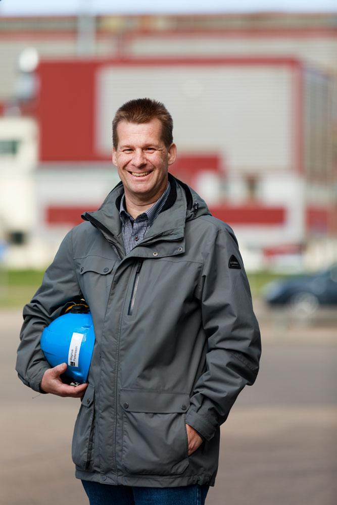 Magnus Pettersson, Energy Coordinator at Höganäs