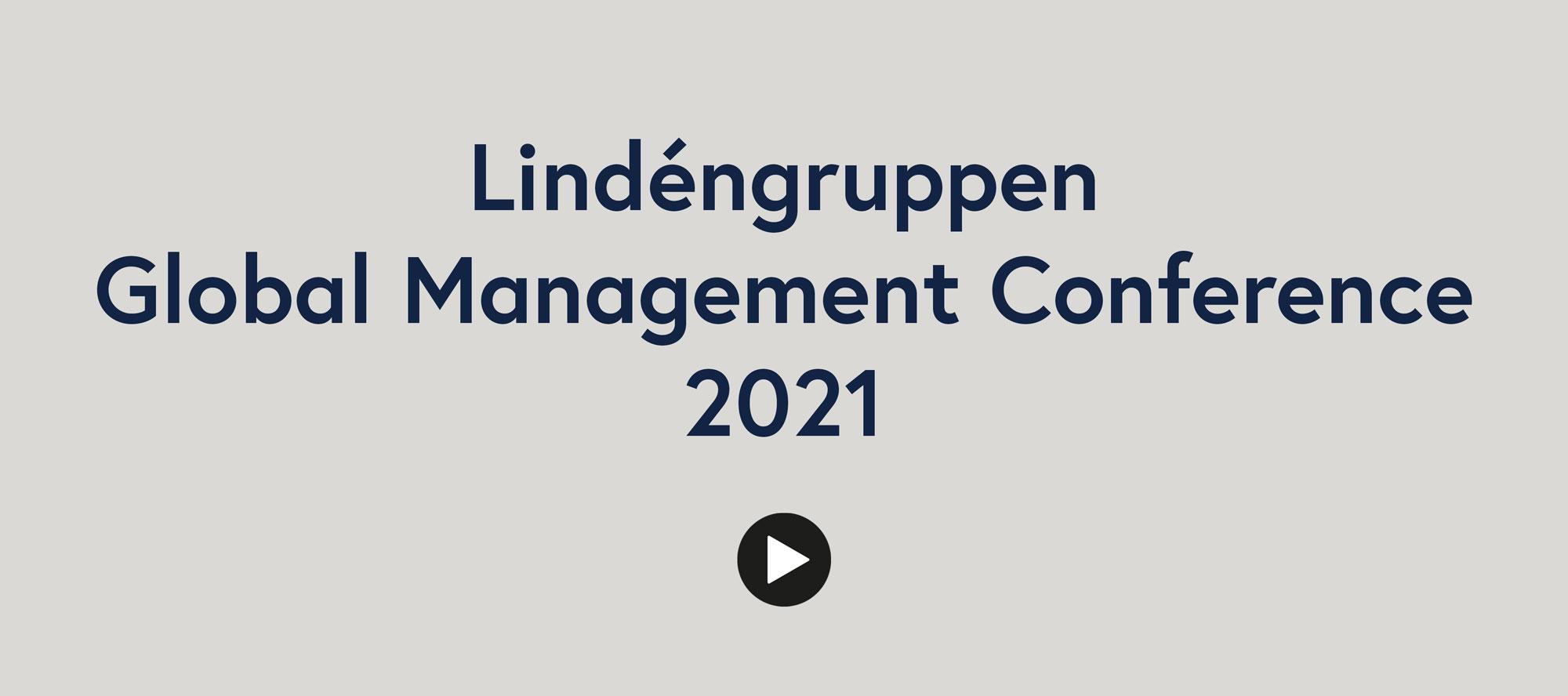 Lindéngruppen Global Management Conference 2021