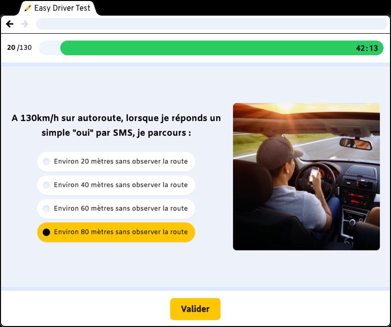 page web : question du test