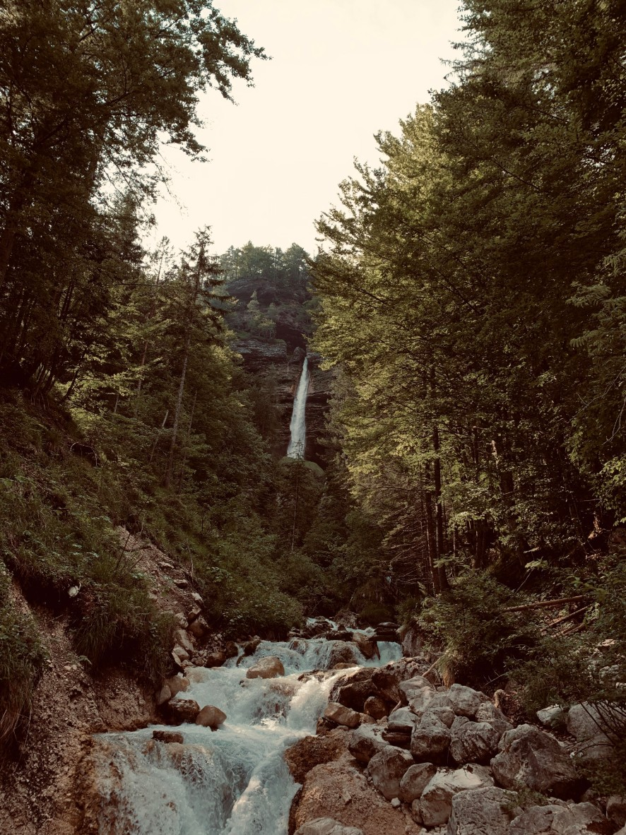 Peričnik, the Magical Waterfall