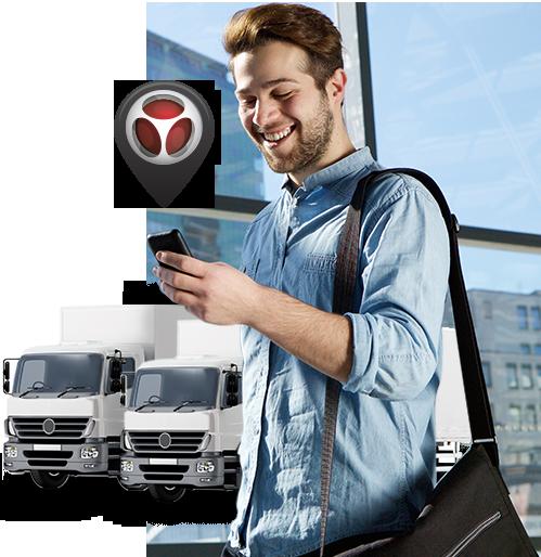 imagem hombre monitor camion