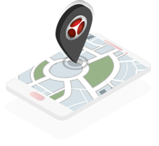 isometrico mapa localizacion detektor