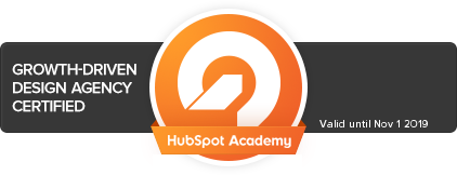 Hubspot Growth Driven Design Agency Certified