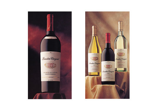 Beaulieu Vineyard Wine Labels