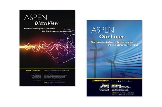 ASPEN Magazine Ads