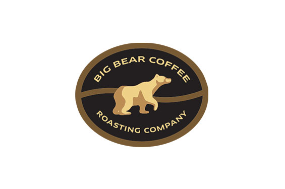 Big Bear Coffee Roasting Company Logo and Label