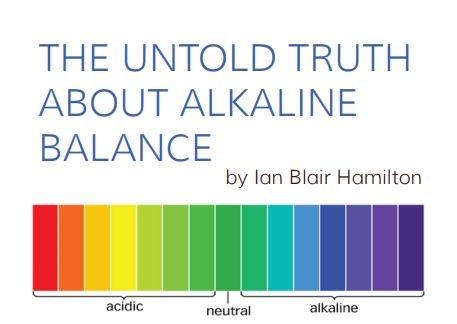 The Untold Truth About alkaline Balance ebook
