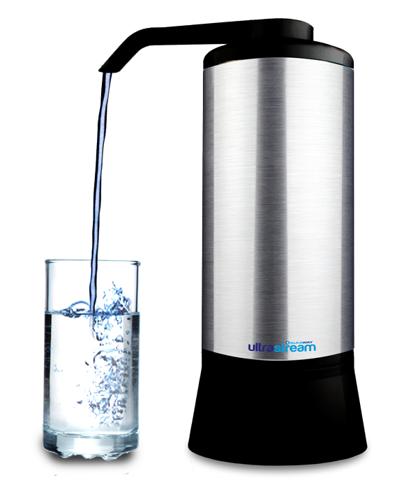 Ultrastrea Natural Alkaline, Hydrogen Generating, Water Filter