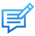 bilingual copywriting icon