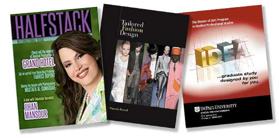 samples of published work graphics
