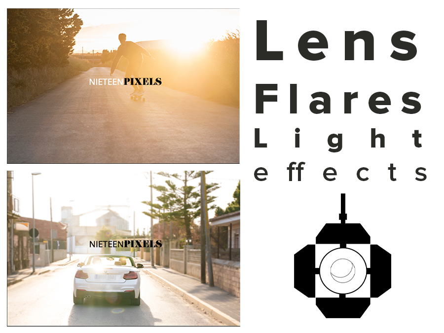 lens flares for photo and video by nineteenpixels