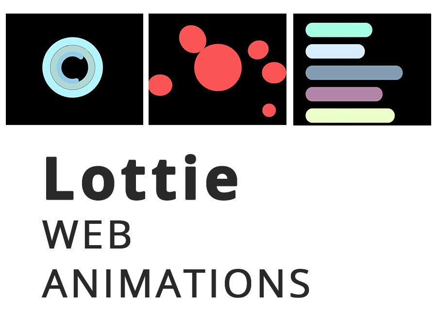 lottie animations by nineteenpixels