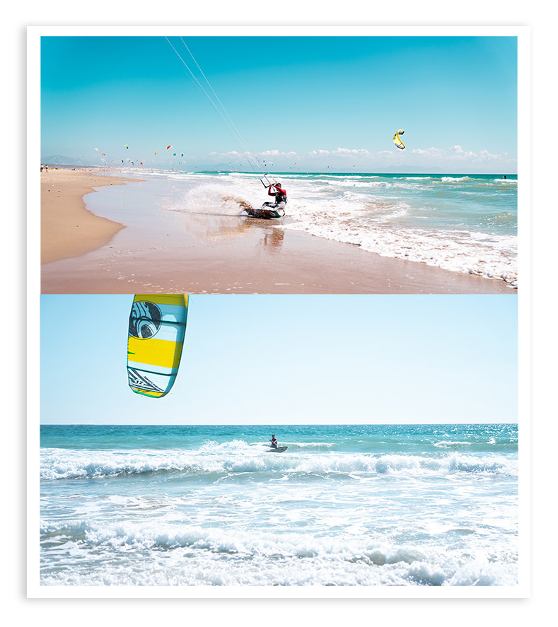 kite surf stock photo collection