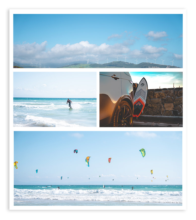 kite surf photo collection