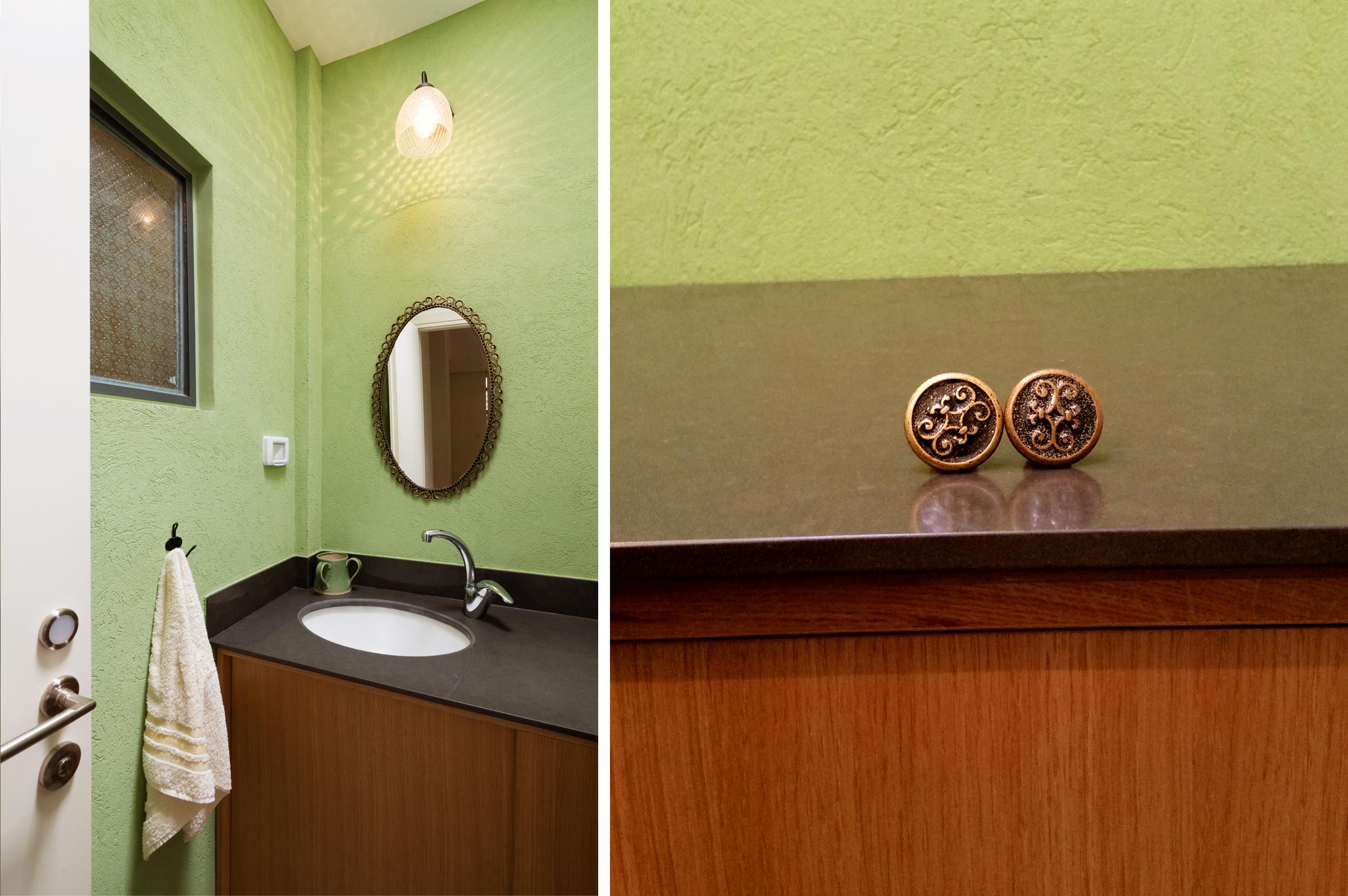 עיצוב פנים חדר אמבטיה