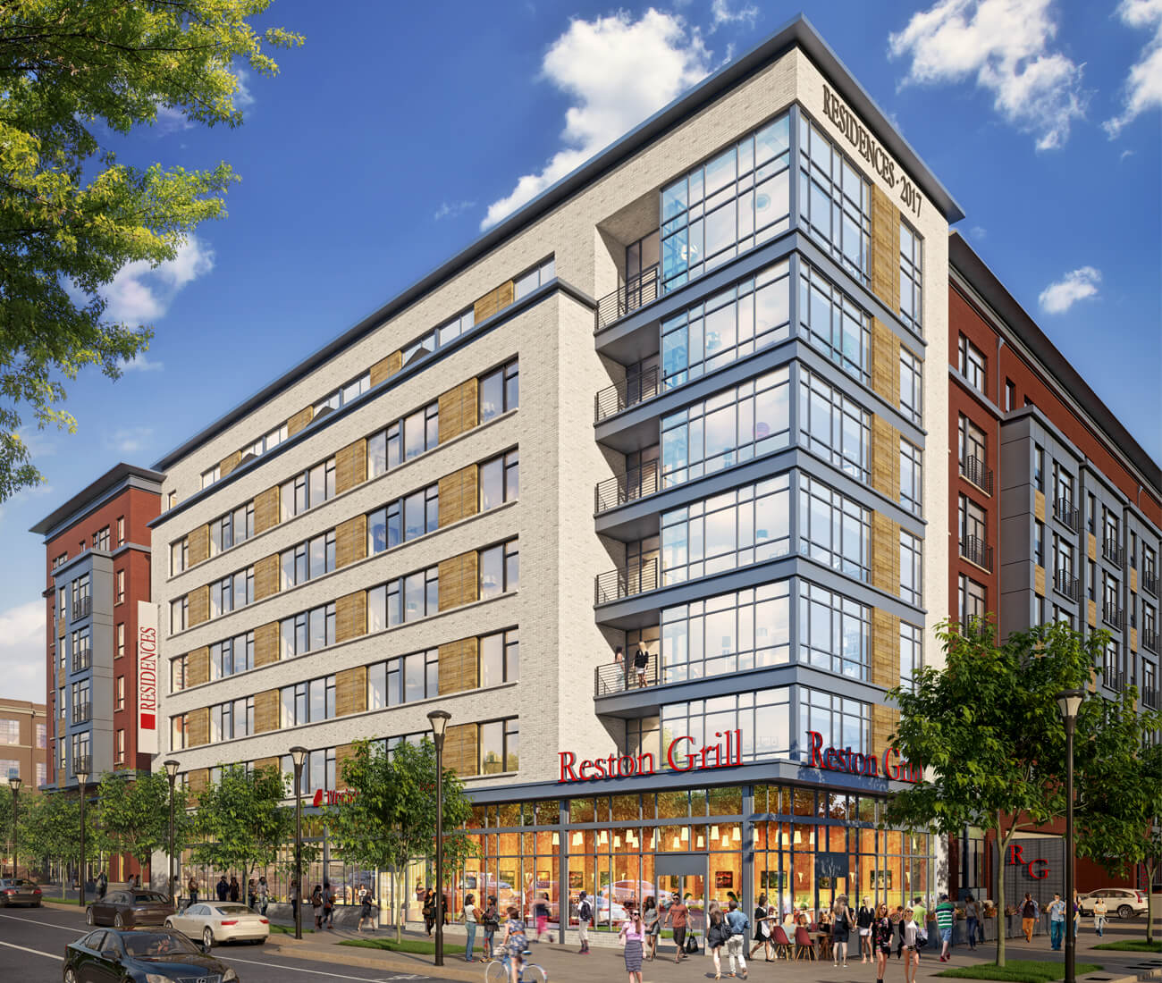 The 1831 Michael Faraday Drive multi-family project in Reston, VA