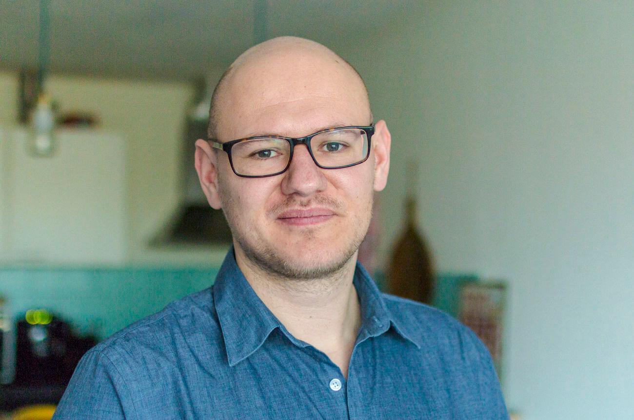 Portret van bestuurslid Jarno Michel