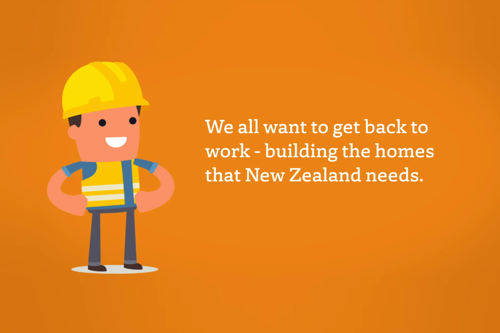 Video: Getting back to work on building sites