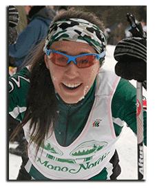Mono Nordic Ski Club skier