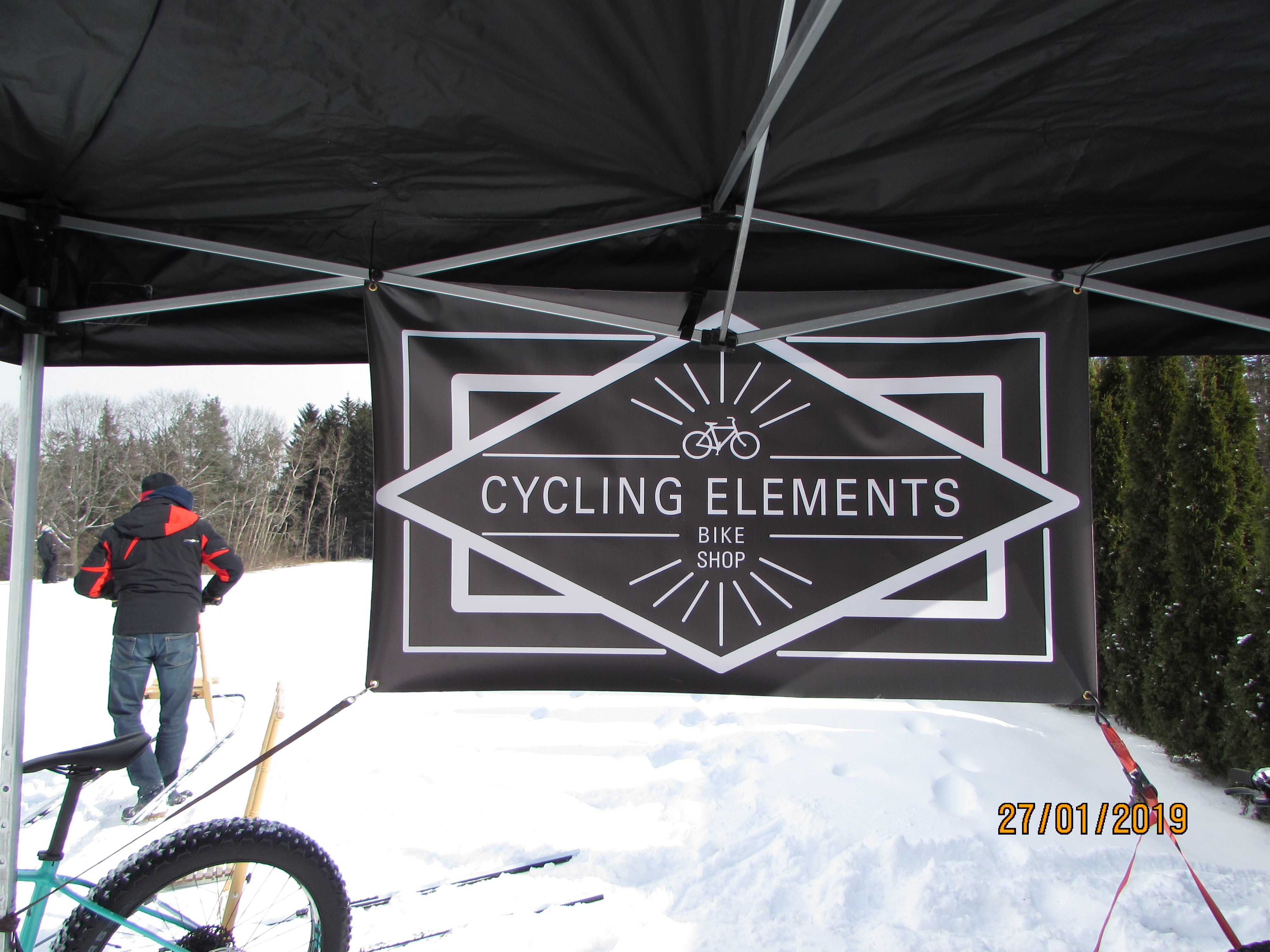 Cycling Elements Sign