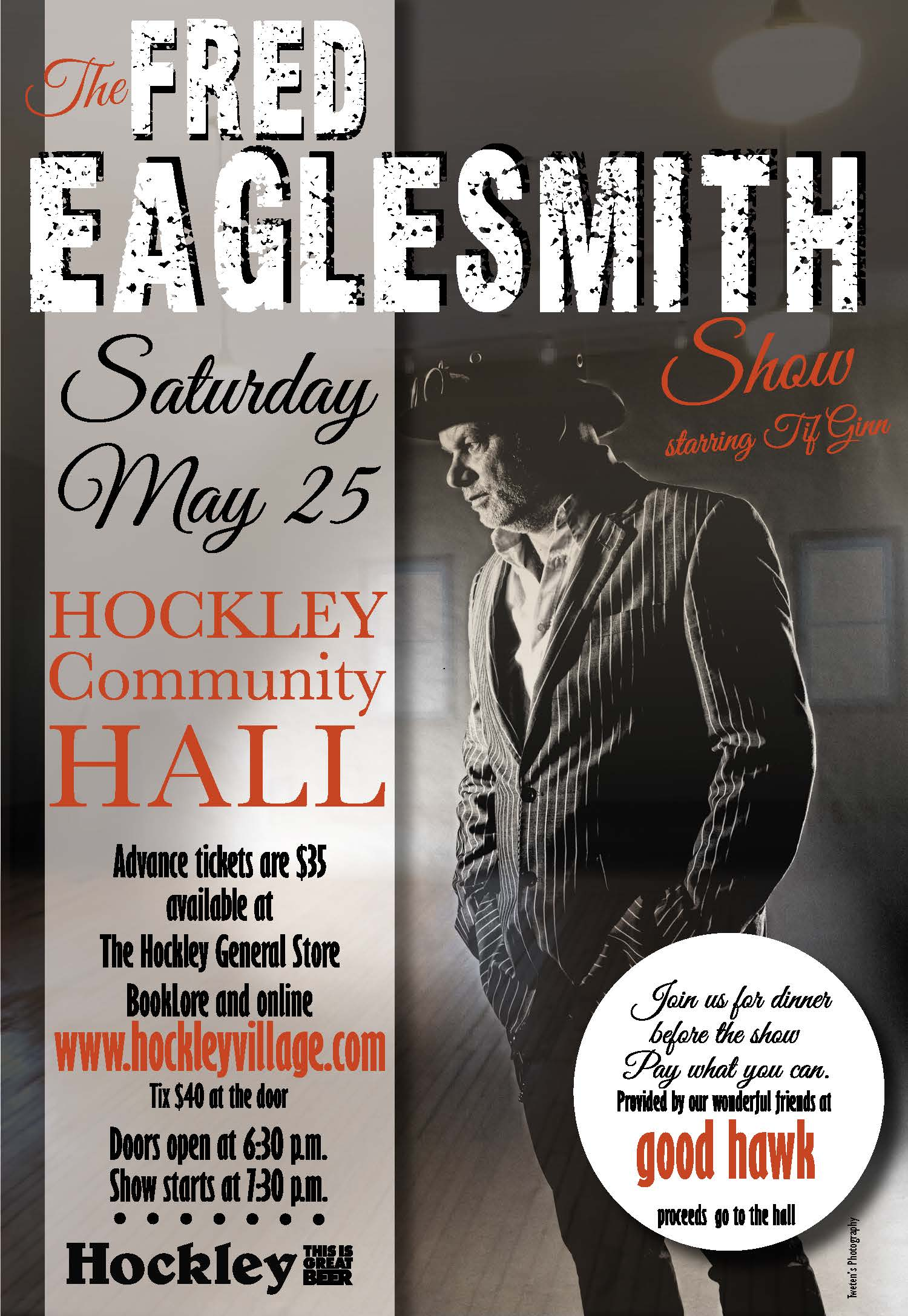 The Fred Eaglesmith Show Poster