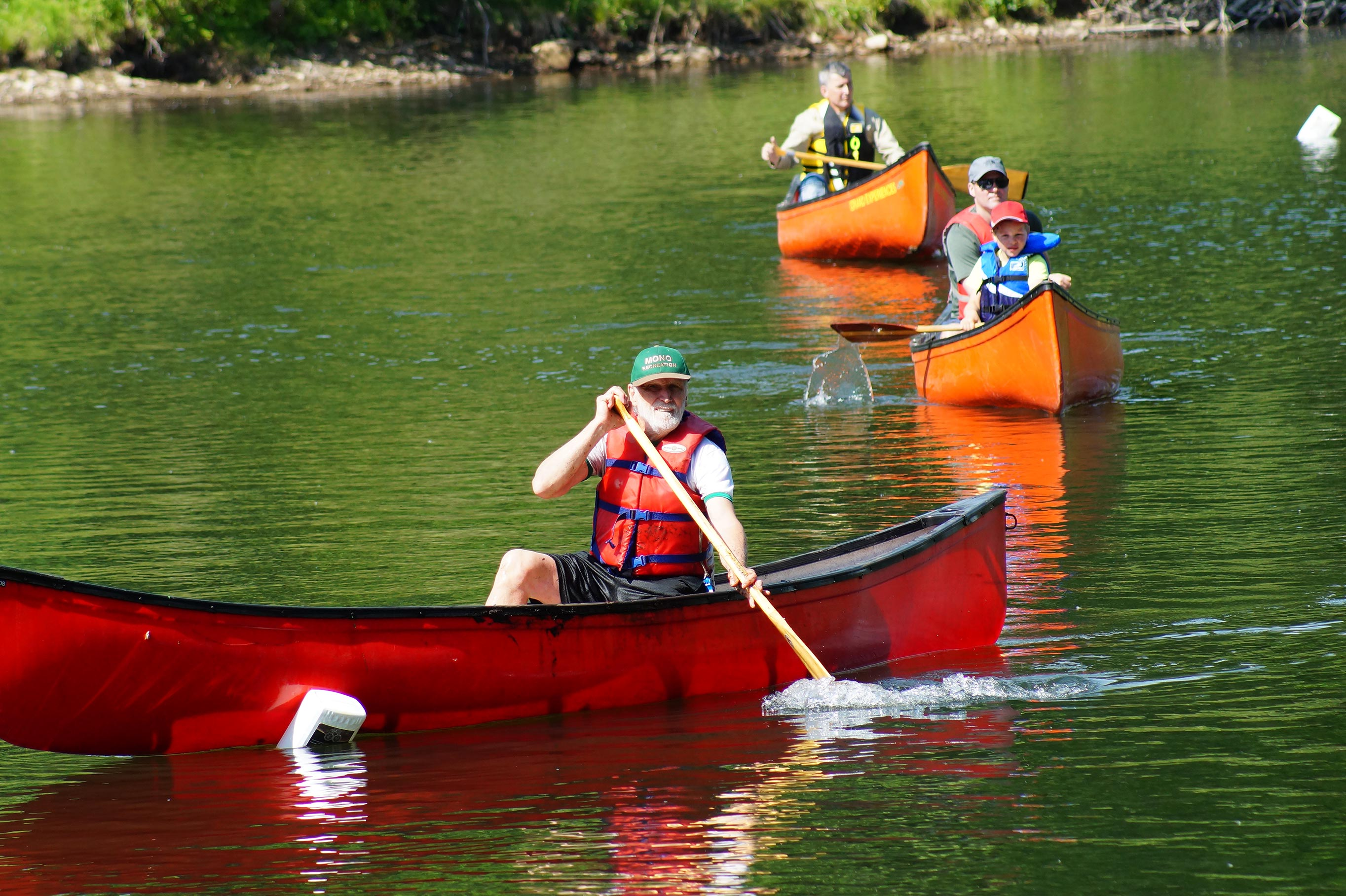 Learn to Canoe instructor